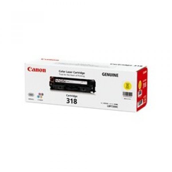 CANON Yellow Toner Cartridge For CART318Y