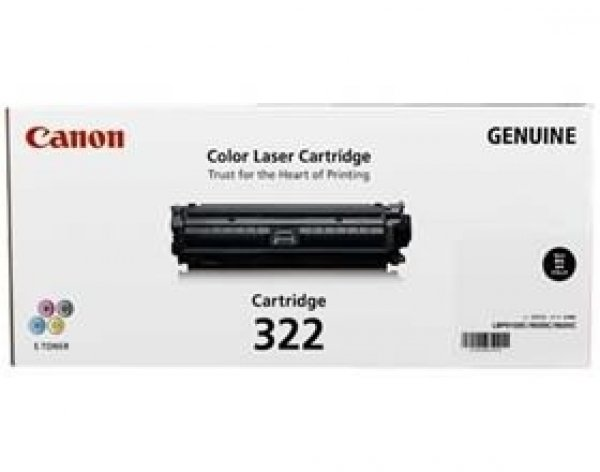 CANON Black Cartridge CART322BK