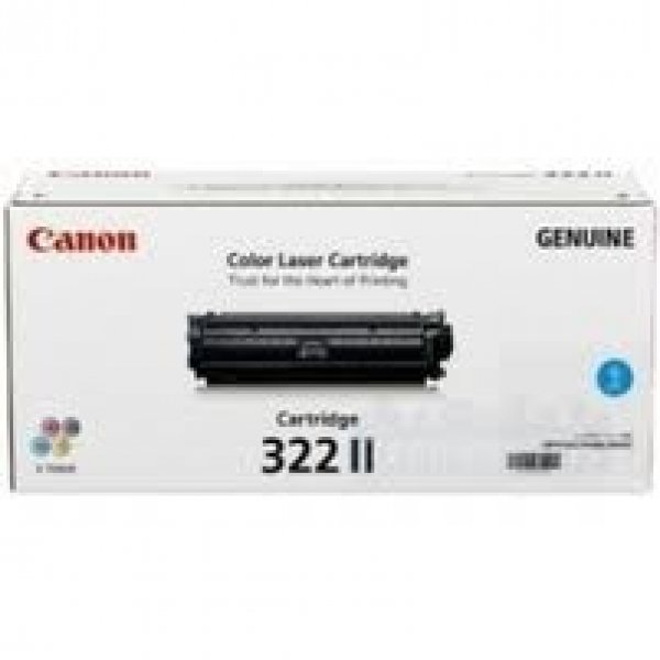 CANON High Yield Cyan Cartridge For CART322CII