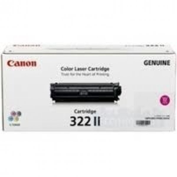 CANON High Yield Magenta Cartridge For CART322MII
