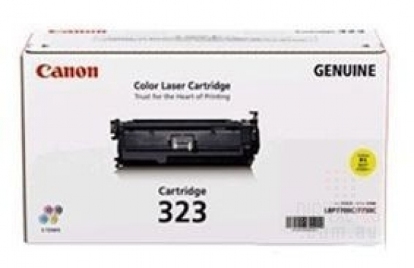 CANON Yellow Toner Cartridge For CART323Y
