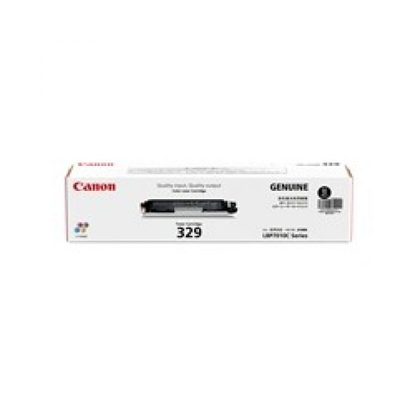 CANON Cart329 Black Toner Yield 1200 Pages For CART329BK