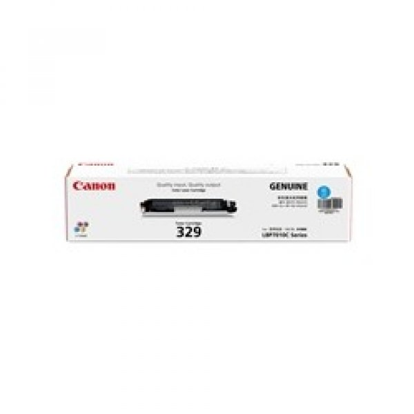 CANON Cart329 Cyan Toner Yield 1000 Pages For CART329C