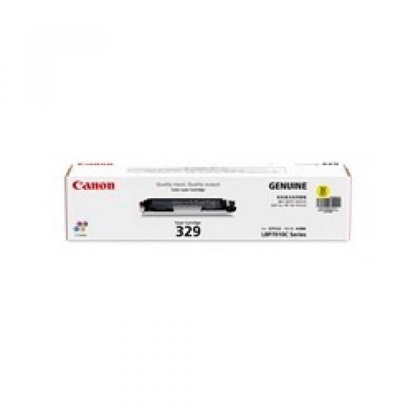 CANON Cart329 Yellow Toner Yield 1000 Pages For CART329Y
