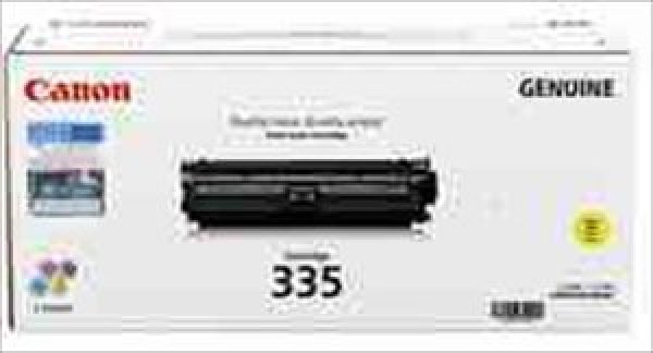 Canon Cart335yl Yellow Toner For Lbp841cdn 7.4k ( Cart335ey )