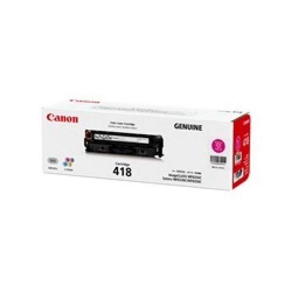 CANON Magenta Toner Cartridge CART418M