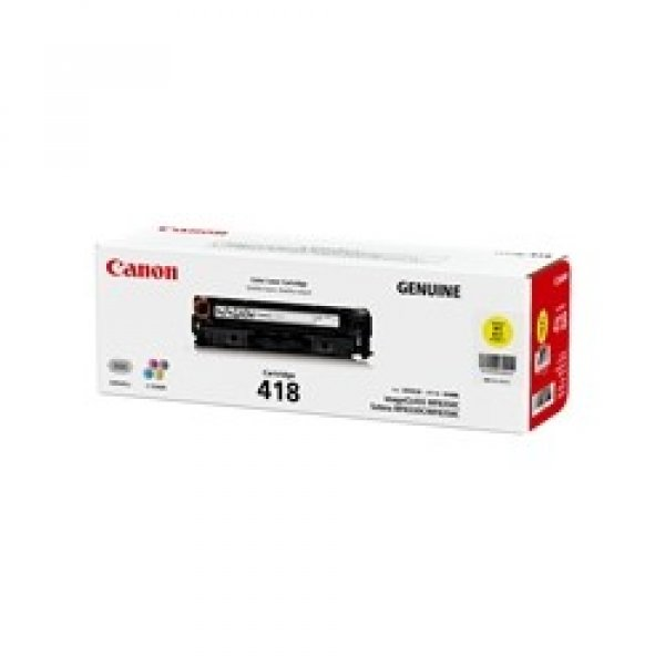 CANON Yellow Cartridge For CART418Y