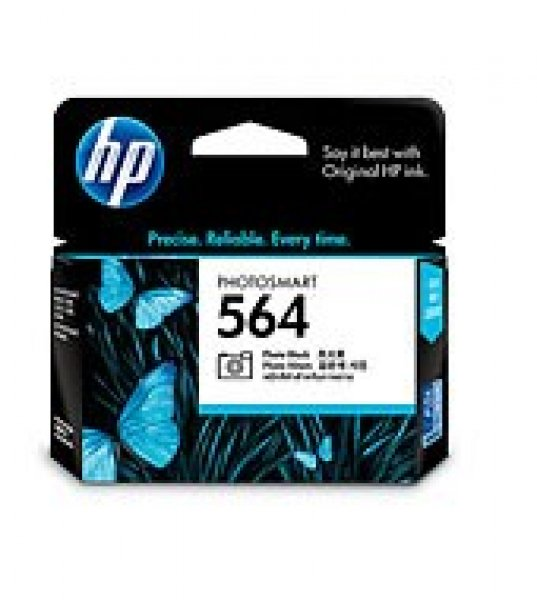 HP  564 Photo Black Ink 130 Photo Yield For CB317WA