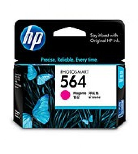 HP  564 Magenta Ink 300 Page Yield For CB319WA