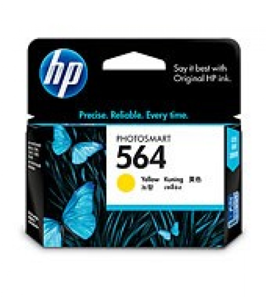 HP  564 Yellow Ink 300 Page Yield For CB320WA