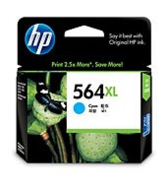 HP  564xl Cyan Ink 750 Page Yield For CB323WA