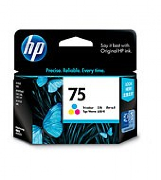 HP  75 Tri-colour Ink 170 Page Yield For D5360 CB337WA