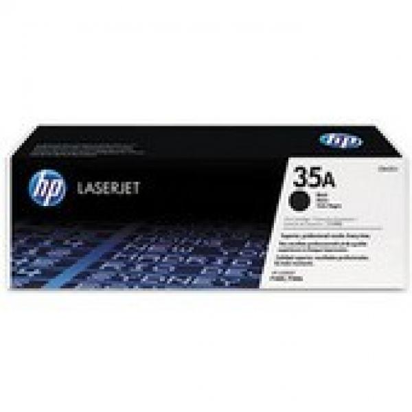 HP  35a Black Dual Toner Pack 2x 1500 Page CB435AD