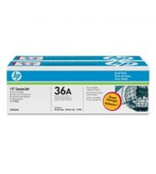 HP  36a Black Dual Toner Pack 2x 2000 Page CB436AD