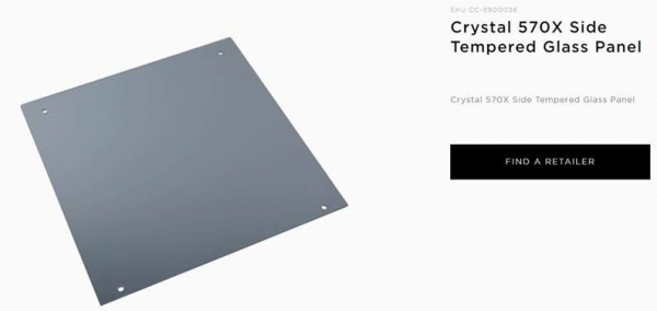 Corsair  570x Rgb Tempered Glass Panel ( Cc-8900036 )