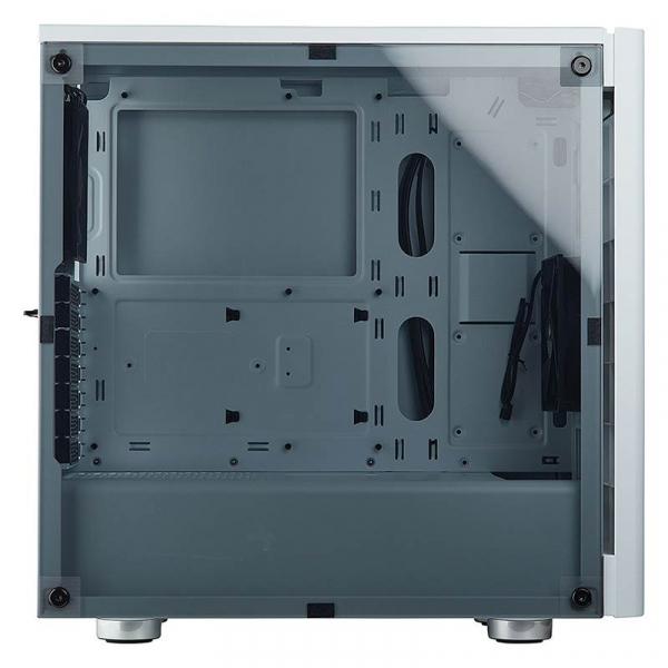 Corsair  Carbide 275r White Atx Mid-tower Case. Side Window.  ( Cc-9011131-ww )