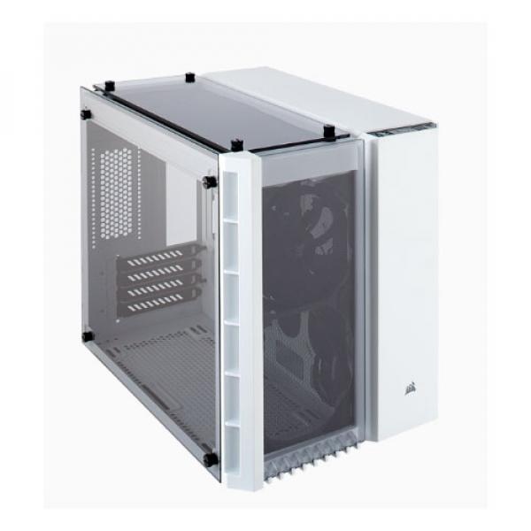 Corsair Crystal Series 280x Tempered Glass Micro-atx Case Wh ( Cc-9011136-ww )