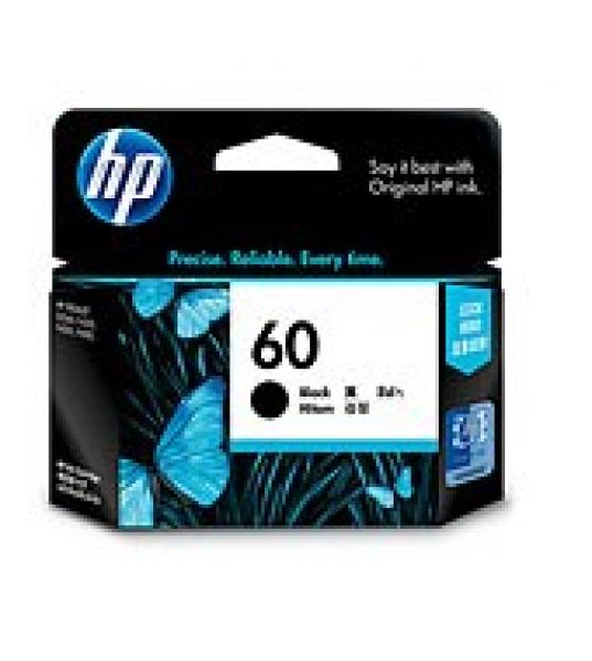 HP  60 Black Ink 200 Page Yield For Dj D2500 CC640WA