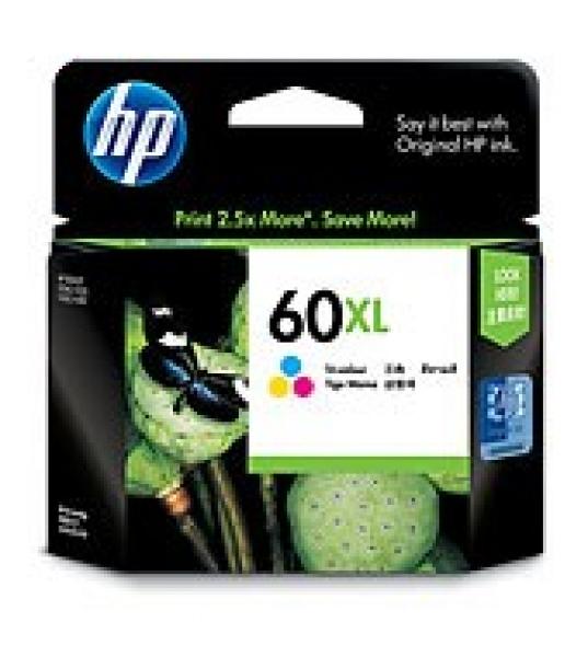 HP  60xl Tri-colour Ink 440 Page Yield For Dj CC644WA