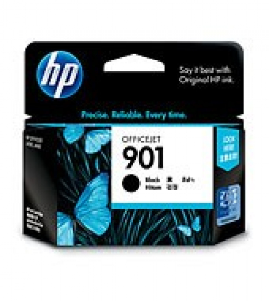 HP  901 Black Ink 200 Page Yield For Oj J4580 CC653AA