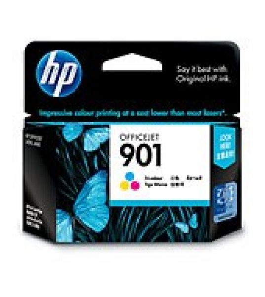 HP  901 Tri-colour Ink 360 Page Yield For Oj CC656AA