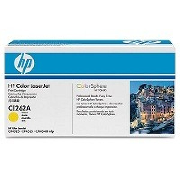 HP  648a Yellow Toner 11000 Page Yield For Clj CE262A