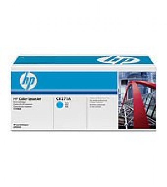 HP  650a Cyan Toner 15000 Page Yield For Clj CE271A