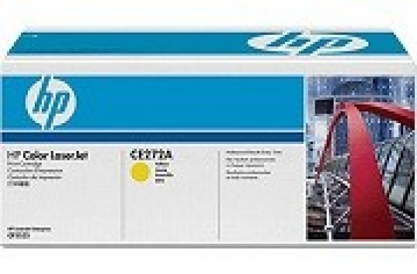 HP  650a Yellow Toner 15000 Page Yield For Clj CE272A