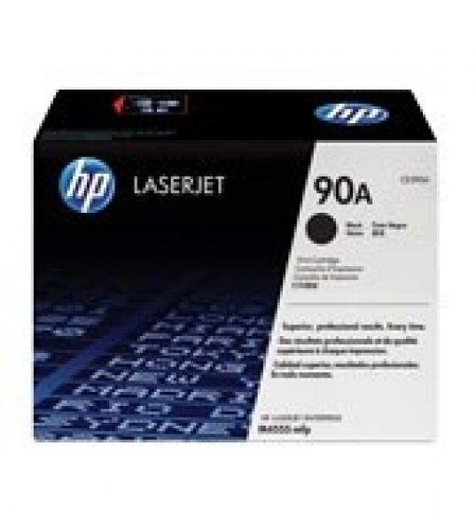HP  90a Black Toner 10000 Page Yield For M601 CE390A