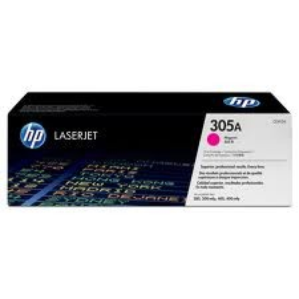 HP  305a Magenta Toner 2600 Page Yield For CE413A