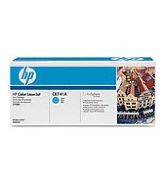 HP  307a Cyan Toner 7300 Page Yield For Clj CE741A