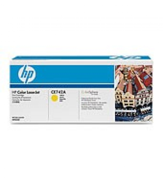 HP  307a Yellow Toner 7300 Page Yield For Clj CE742A