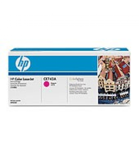 HP  307a Magenta Toner 7300 Page Yield For Clj CE743A