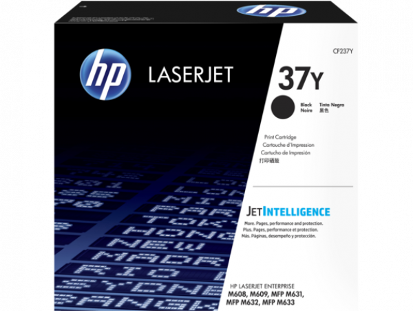 HEWLETT PACKARD Hp 37y Extra High Yield Black CF237Y