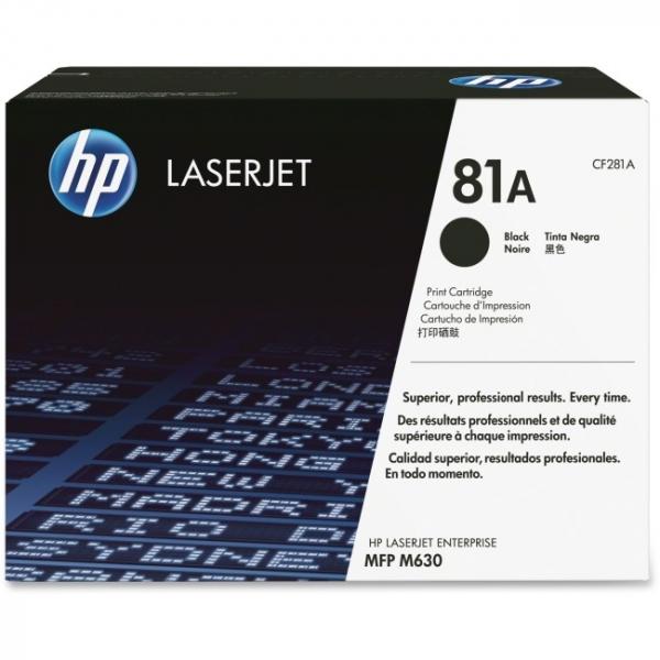 HP  81a Black Laserjet Toner CF281A