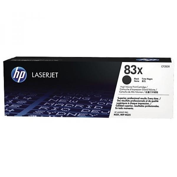 HP  Laserjet 83x Black Toner CF283X
