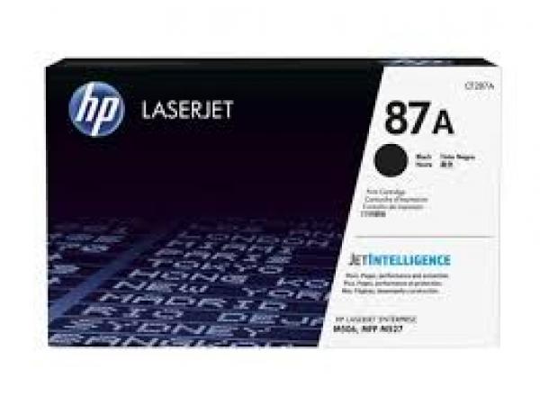 HP 87a Black Laserjet Toner CF287A