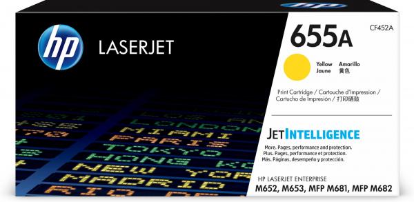 HEWLETT PACKARD Hp 655a Yellow Original Laserjet CF452A