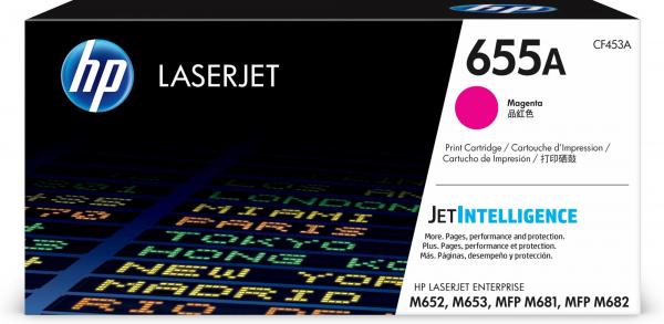 HEWLETT PACKARD Hp 655a Magenta Original CF453A