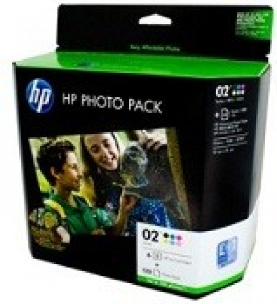 HP  02 Ink & Paper Value Pack 2380 (660 + CG849AA