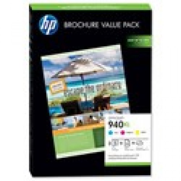 HP  940xl Ink Value Pack 1400 Page Yield For CG898AA