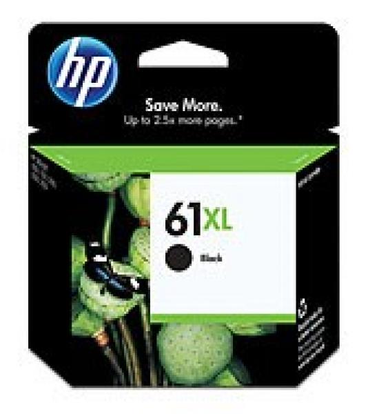 HP  61xl Black Ink 480 Page Yield For Dj 3000 CH563WA