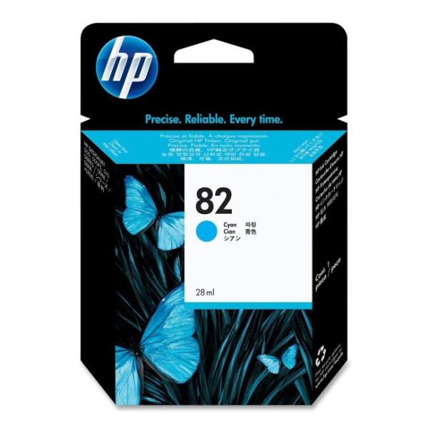 HP  82 Cyan 28-ml Ink CH566A