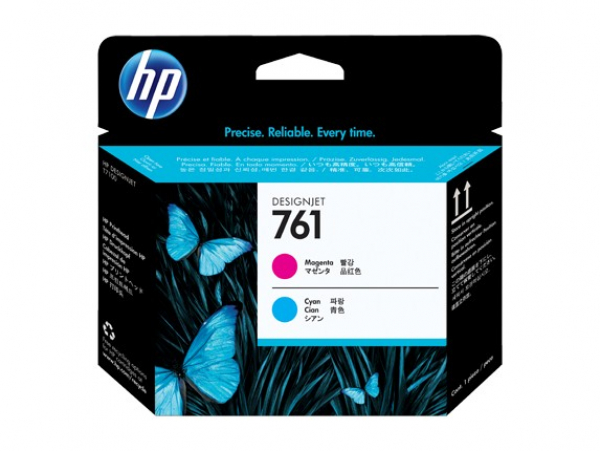 HP  761 Magenta And Cyan Printhead For CH646A