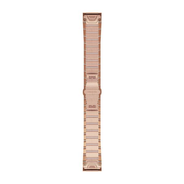 GARMIN Quickfet 20 Watch Bands Rose Gold-tone Stainless Steel (010-12739-02)