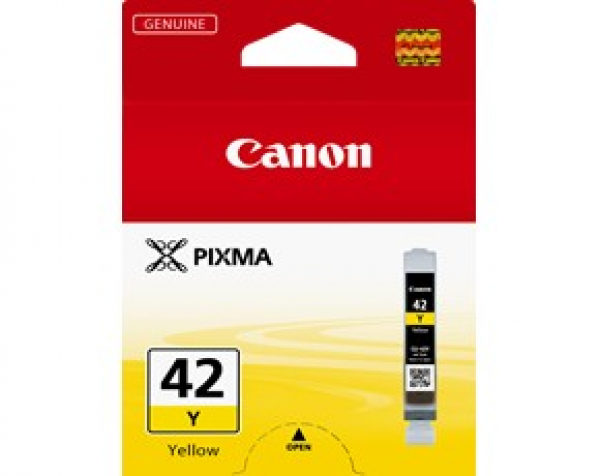 CANON Cli-42y Yellow Ink Cartridge For Pixma CLI42Y