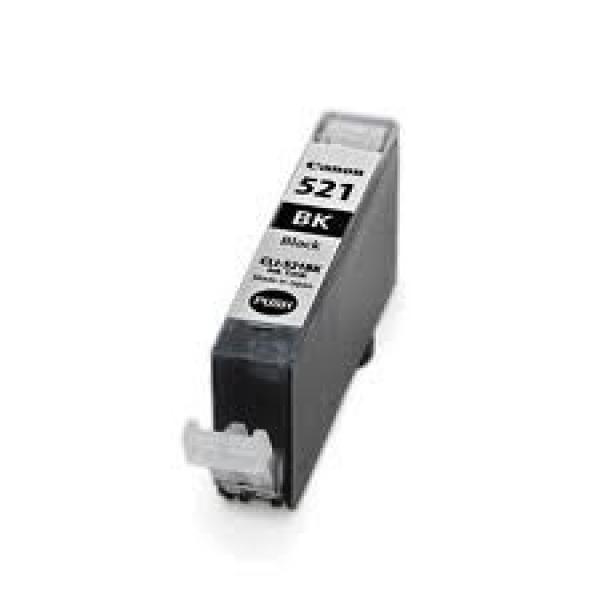 CANON Cli-521bk Black Ink Cartridge CLI521BK