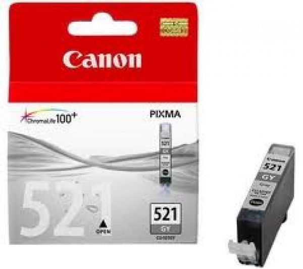 CANON Cli-521gy Grey Ink Cartridge For Mp980 CLI521GY