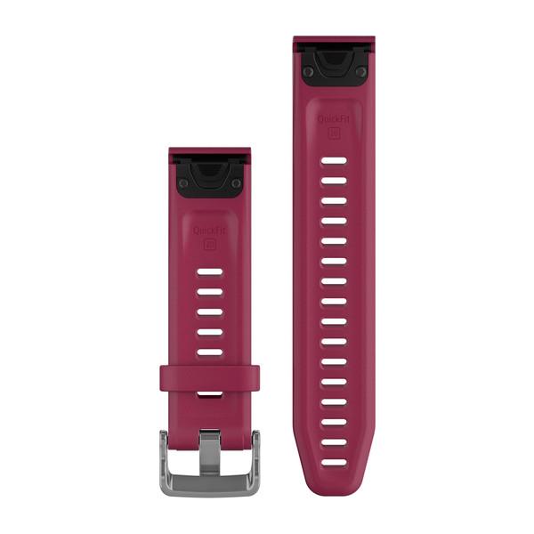 GARMIN Quickfet 20 Watch Bands Cerise Silicone (010-12739-05)