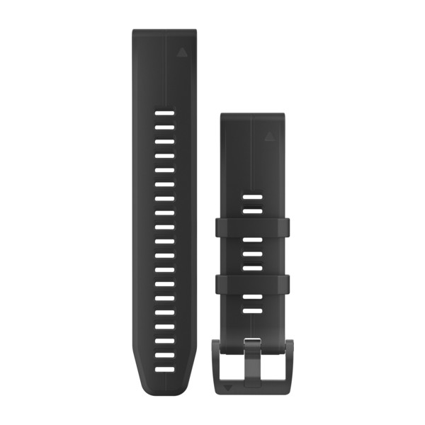 GARMIN Quickfet 22 Watch Bands Black/black Silicone (010-12740-00)